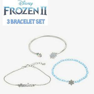 🌬Disney for Hot Topic 3 bracelet set NWT